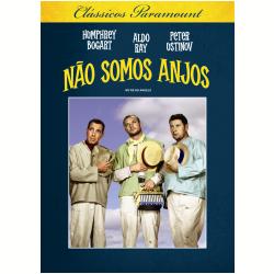 DVD - Clássicos Paramount - Não Somos Anjos - Michael Curtiz ( Diretor ) - 7890552103105
