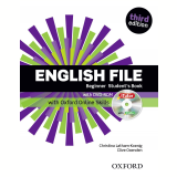 English File Beginner Student Book With Itutor And Online Skills - Third Edition -