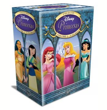 Box Princesas (vol. 2) (DVD)