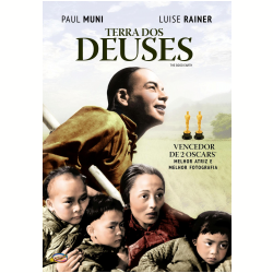 DVD - Terra Dos Deuses - Remasterizado - Paul Muni, Luise Rainer - 7898366216424