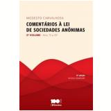 Comentarios A Lei De Sociedades Anonimas, Vol.2 - Modesto Carvalhosa