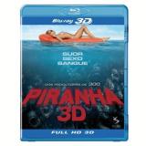 Piranha 3d - Blu-ray 3d (Blu-Ray) - Richard Dreyfuss, Elisabeth Shue