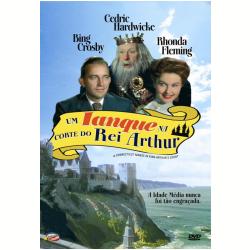DVD - Um Ianque na Corte do Rei Arthur - Cedric Hardwicke, Rhonda Fleming, Bing Crosby - 7898366214093
