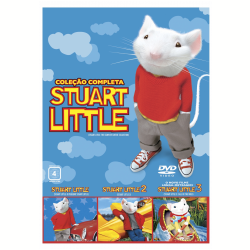 DVD - Stuart Little Colecao Completa - Hugh Laurie - 7892770035909