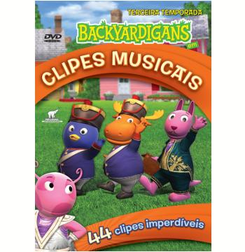 Backyardigans Em Clipes Musicais - 3ª Temporada (DVD)