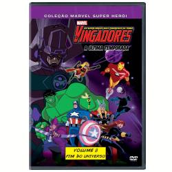 DVD - Os Vingadores: Os Super - Heróis Mais Poderosos da Terra ( Vol. 8 ) - Boyd Kirkland ( Diretor ) , Frank Paur ( Diretor ) - 7899307918889