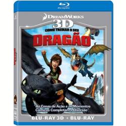 Blu - Ray - Como Treinar O Seu Dragão 3d + - Chris Sanders ( Diretor ) - 7898512985464