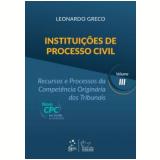 Instituições De Processo Civil - Leonardo Greco