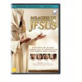 Milagres De Jesus - (vol.1) - 1° Temporada (DVD) - Milhem Cortaz