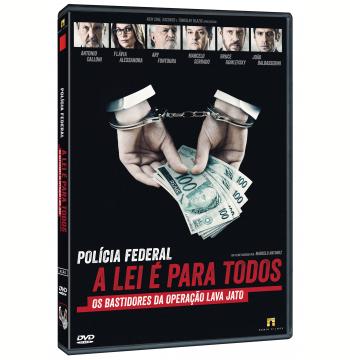 Polícia Federal - A Lei é Para Todos (DVD)