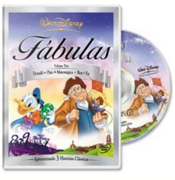 Fábulas Disney - Volume 3 - Donald no País da Matemágica - Ben E Eu (DVD)