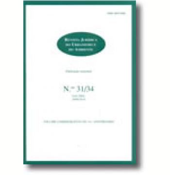Revista Jurídica do Urbanismo e do Ambiente - N.ºs 31/34 - Jan. / Dez. 2009/2010