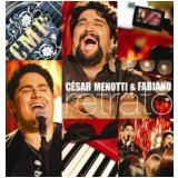 César Menotti e Fabiano - Retrato Ao Vivo No Estudio (CD) - César Menotti e Fabiano