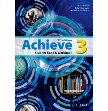 Achieve 3 Student Book - Workbook - Second Edition