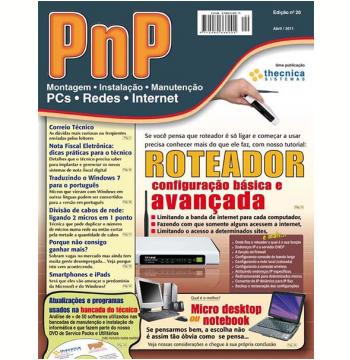 PnP Digital nº 20 - Roteadores: configuração básica e avançada (Ebook)