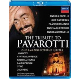 The Tribute To Pavarotti (Blu-Ray) - Vários