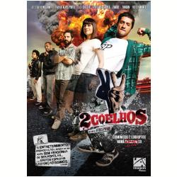 DVD - 2 Coelhos - Caco Ciocler, Alessandra Negrini, Fernando Alves Pinto - 7899154512674