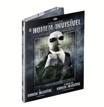O Homem Invisível + A Volta do Homem Invisível (DVD)