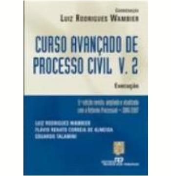 Curso Avançado do Processo Civil Vol. 2 9ª Edição