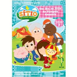DVD - Sitio Do Picapau Amarelo, Vol. 3 - Humberto Avelar - 7891430148690