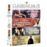 Box Classicos Da Fé (DVD) - Vários (veja lista completa)