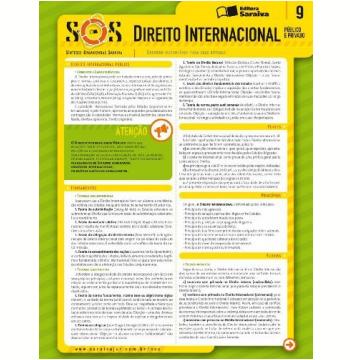 Sos (vol.9) - Direito Internacional Publico E Privado
