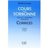 Cours De La Sorbonne Langue Civilisation - Corriges - M. Dubois