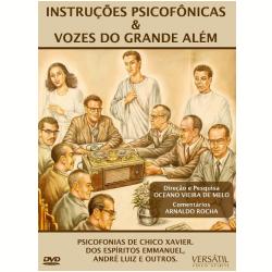 DVD - Instruções Psicofônicas & Vozes do Grande Além - Vários ( veja lista completa ) - 7895233149601