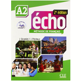 Echo A2 - Livre + DVD-Rom - 2E Edition - Jacques Pecheur