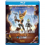Ratched e Clank - Heróis da Galáxia (Blu-ray 3D e 2D) (Blu-Ray) - Sylvester Stallone