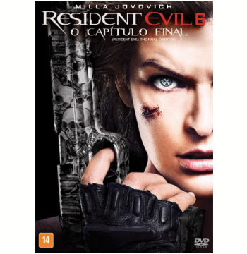 Resident Evil 6: O Capítulo Final (DVD)