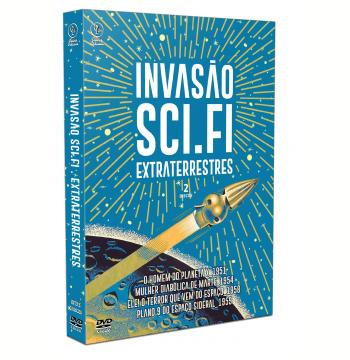 Box - Invasão Sci-Fi - Extraterrestres + 4 Cards (DVD)