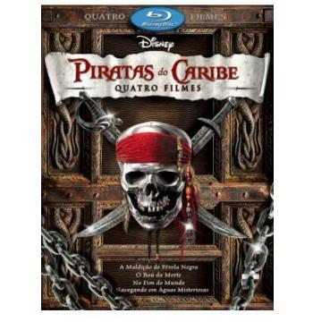 Piratas do Caribe: A Quadrilogia (Blu-Ray)