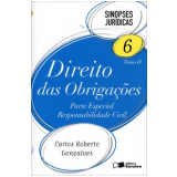 Sinopses Juridicas (vol.6) - Tomo Ii - Obriga�oes - Carlos Roberto Gon�alves