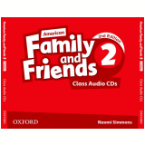 American Family And Friends 2 Class (3 Cds) - Second Edition -