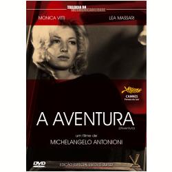 DVD - A Aventura - 1960 - Michelangelo Antonioni ( Diretor ) - 7895233168602