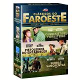 Box - Coleção Clássicos do Faroeste III (3 DVDs) - Shirley Maclaine, Leslie Nielsen, Audie Murphy