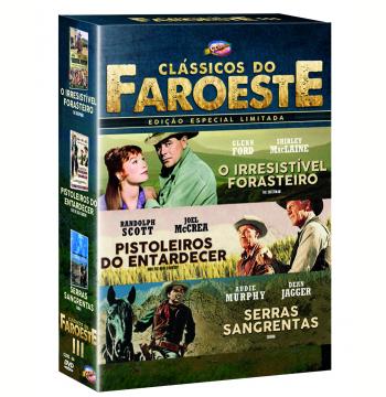 Box - Coleção Clássicos do Faroeste III (3 DVDs)