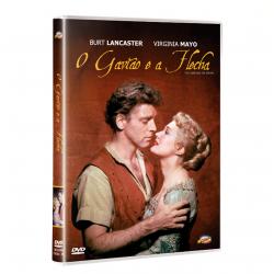 DVD - O Gavião e a Flecha - Burt Lancaster - 7898366211917