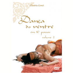 DVD - Claudia Cenci - Dança do Ventre em 10 Passos Vol. 2 - Claudia Cenci - 7898060833958