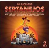 40 Sucessos Sertanejos (CD) - Diversos