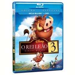 Blu - Ray - O Rei Leão 3: Hakuna Matata Edição Especial - Bradley Raymond ( Diretor ) - 7899307916502