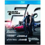 Coleção Velozes e Furiosos (Blu-Ray) - Paul Walker, Dwayne Johnson