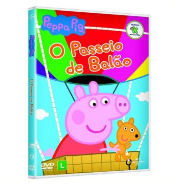 Peppa - O Passeio de Balão (DVD)