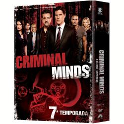 DVD - Criminal Minds - 7° Temporada - Thomas Gibson, Joe Mantegna, Matthew Gray Gubler - 7899307918162