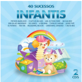 40 Sucessos Infantis Diversos (duplo) (CD) - Diversos
