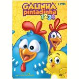 Kit Galinha Pintadinha - 1 a 4 (DVD) -