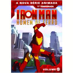 DVD - Iron Man - Homem de Ferro - 1ª Temporada - Volume 5 - Brandon Auman ( Diretor ) , Guillaume Enard ( Diretor ) - 7890552102603