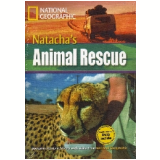 Footprint Reading Library - Level 8  3000 C1 - Natacha´s Animal Rescue - American English + Multirom - Rob Waring