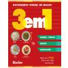 Dicion�rio Visual de Bolso - 3 em 1 - Chin�s - Pinyin/ Ingl�s/ Portugu�s